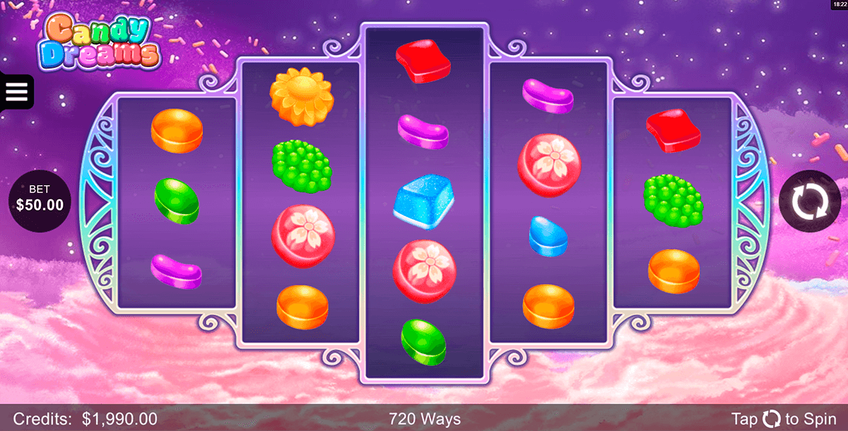 candy dreams microgaming slot machine