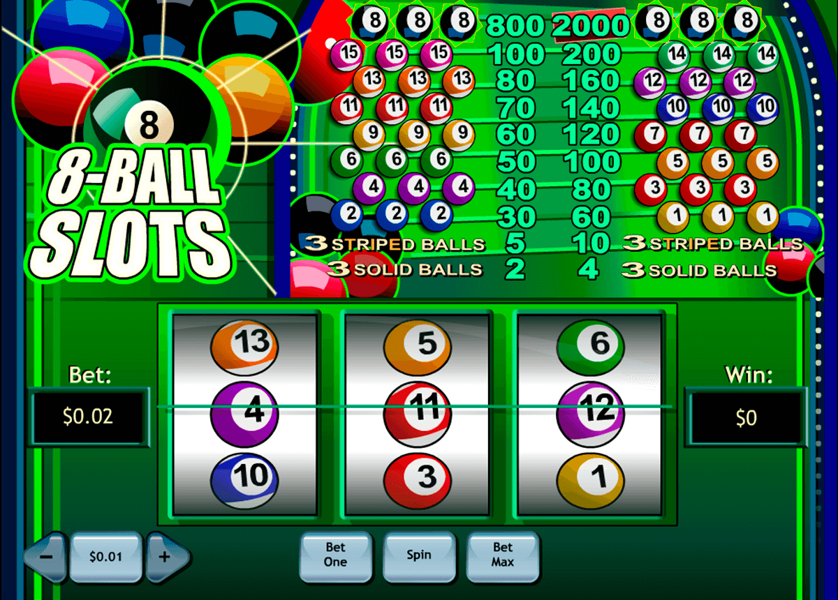 8ball slotss playtech slot machine
