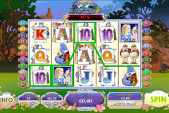 adventures in wonderland playtech slot machine