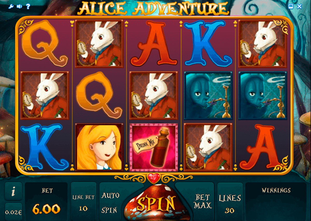 alice adventure isoftbet slot machine