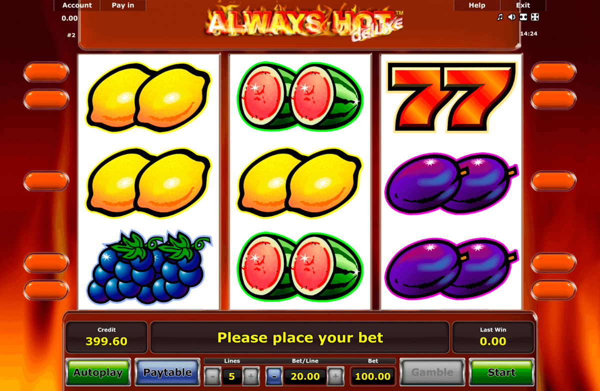 always hot novomatic slot machine