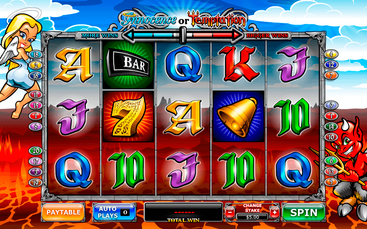 angel or devil playtech slot machine