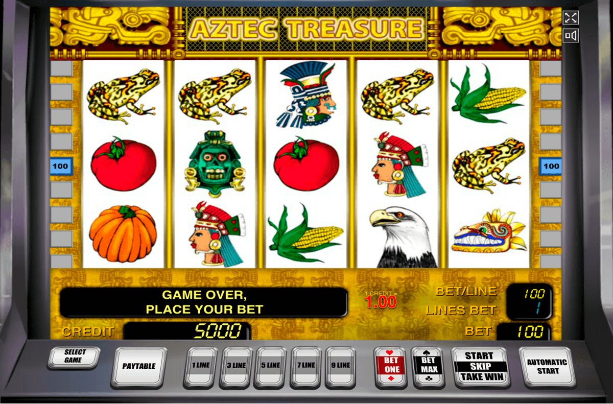 aztec treasure novomatic slot machine