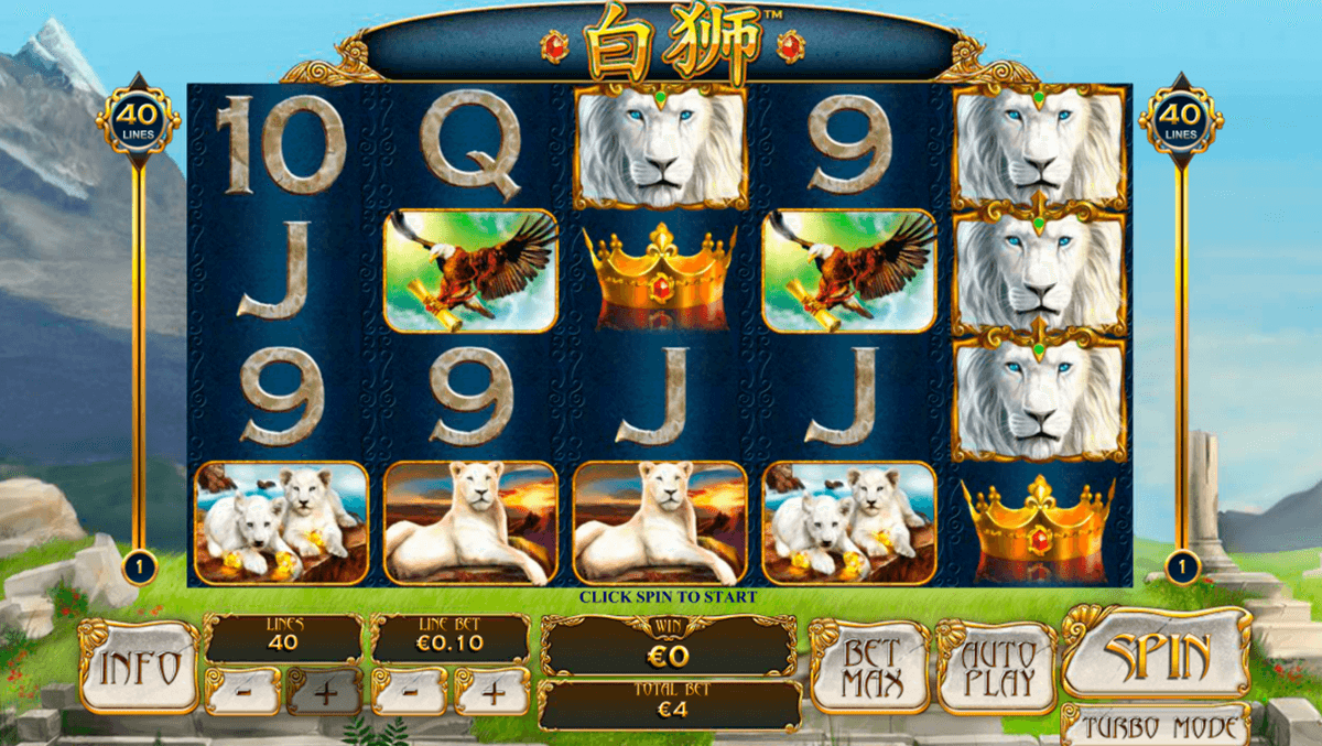 bai shi playtech slot machine