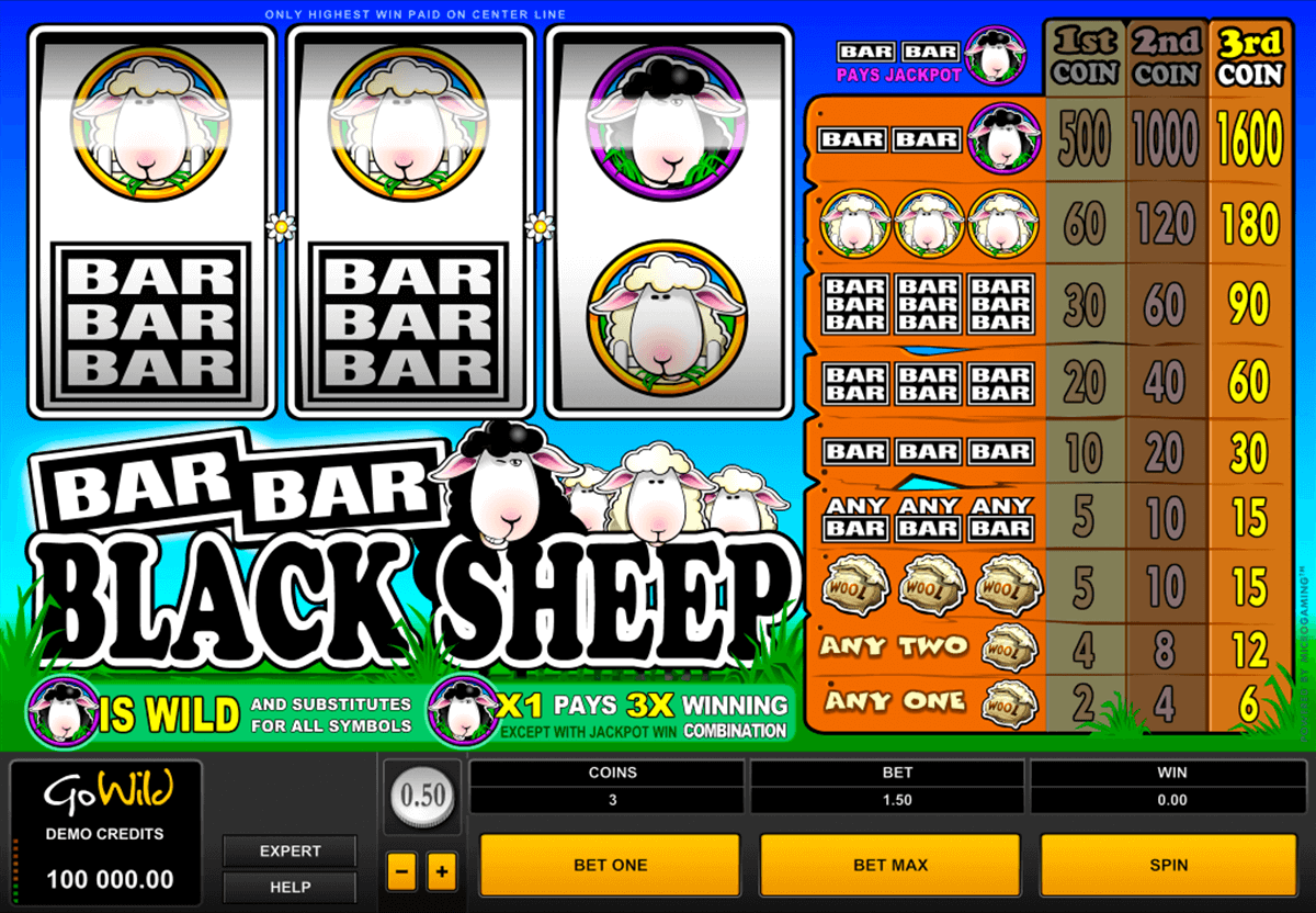 barbarblack sheep microgaming slot machine