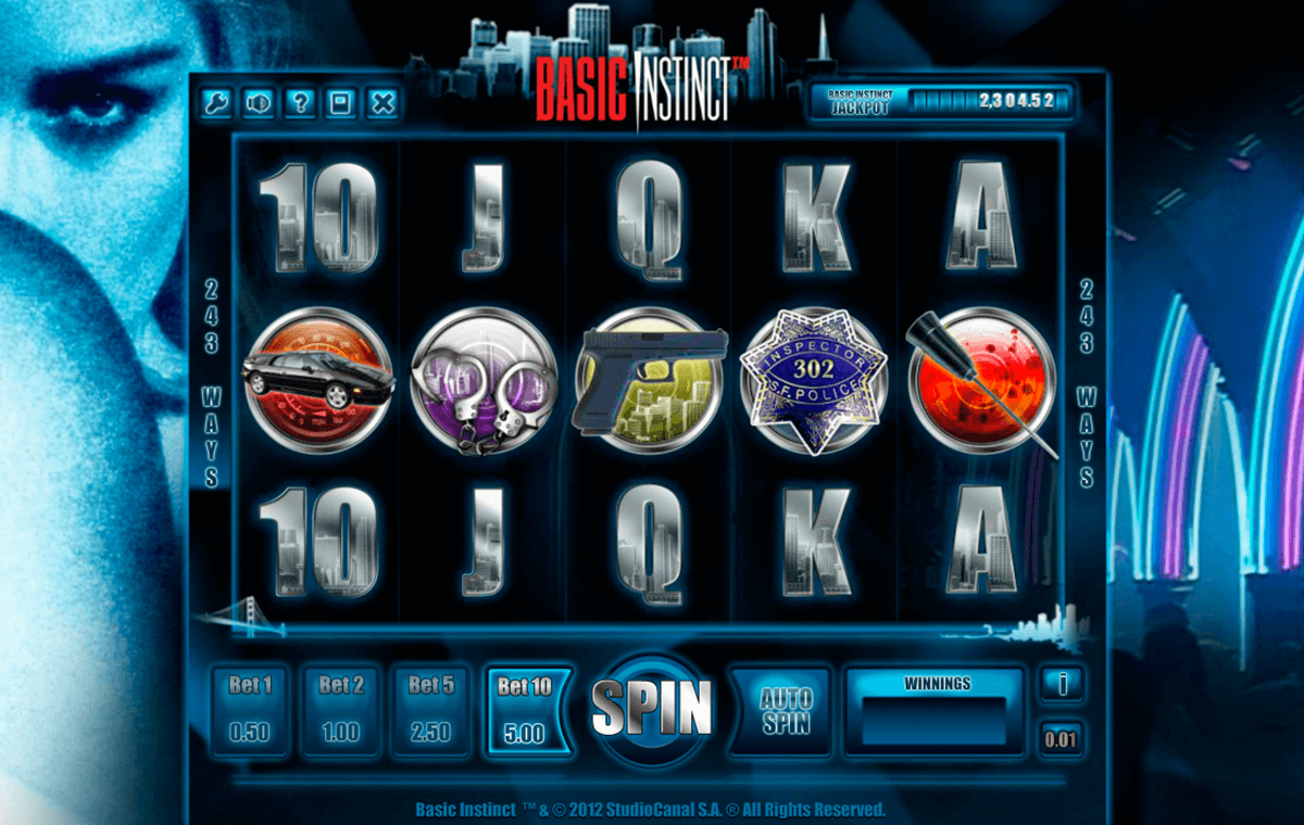basic instinct isoftbet slot machine