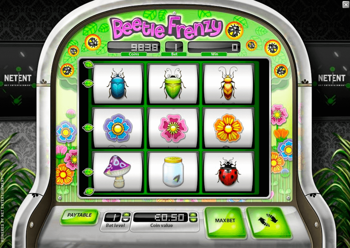 beetle frenzy netent slot machine