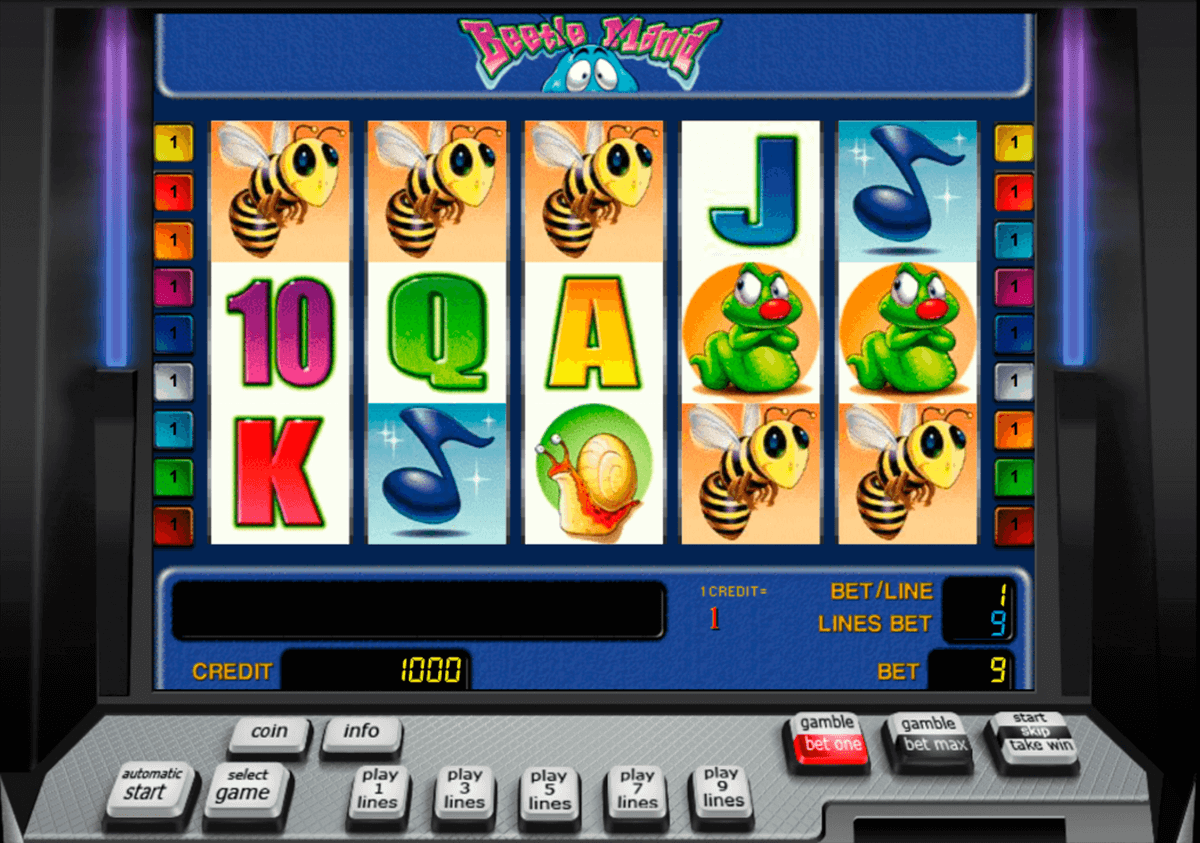 beetle mania novomatic slot machine