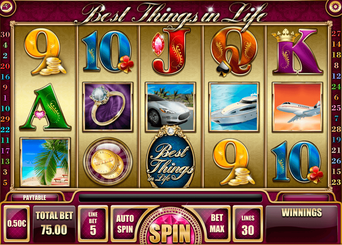 best things in life isoftbet slot machine