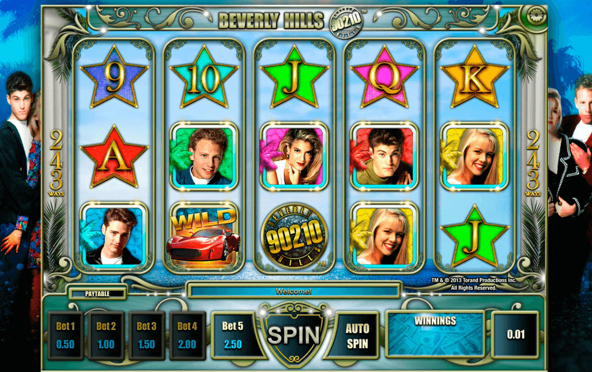 beverly hills 90210 isoftbet slot machine