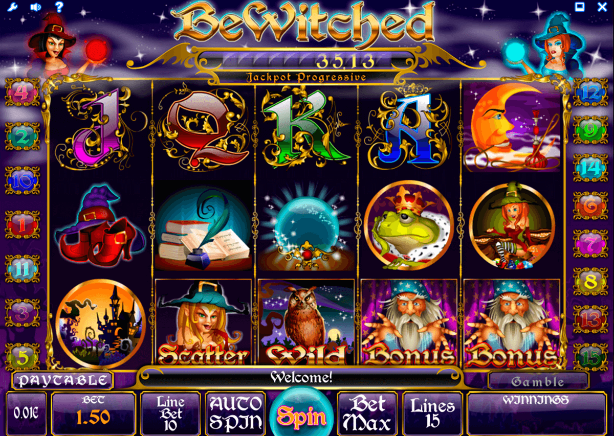 bewitched isoftbet slot machine