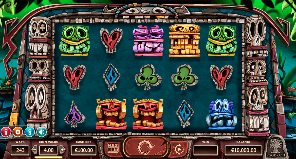 big blox yggdrasil slot machine
