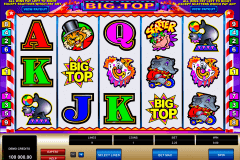 big top microgaming slot machine