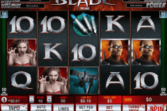 blade 50 lines playtech slot machine