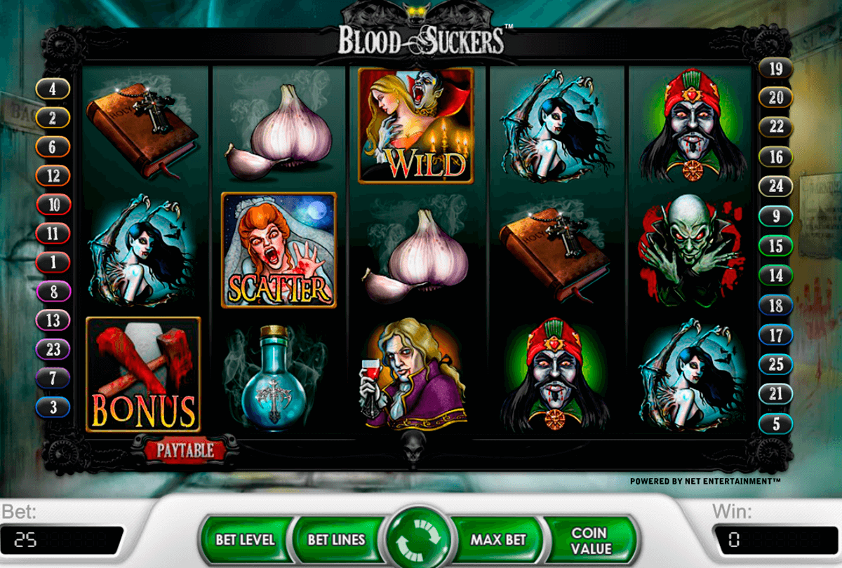 blood suckers netent slot machine