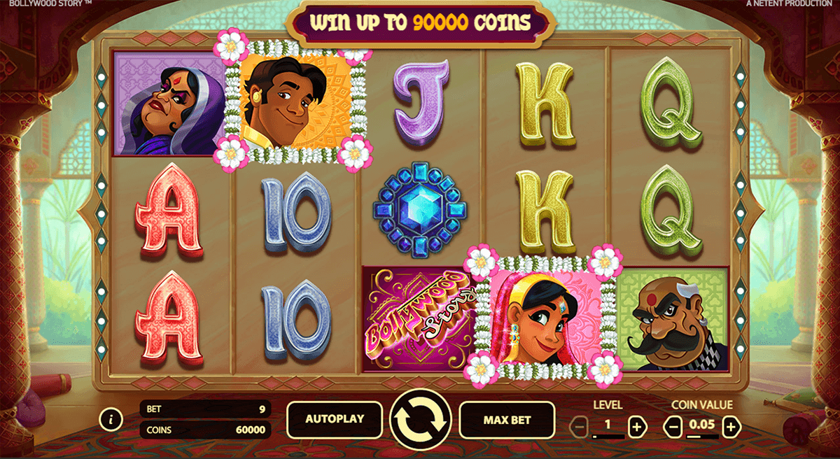 bollywood story netent slot machine