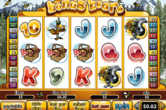 bonus bears playtech slot machine