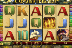 captains treasure pro playtech slot machine