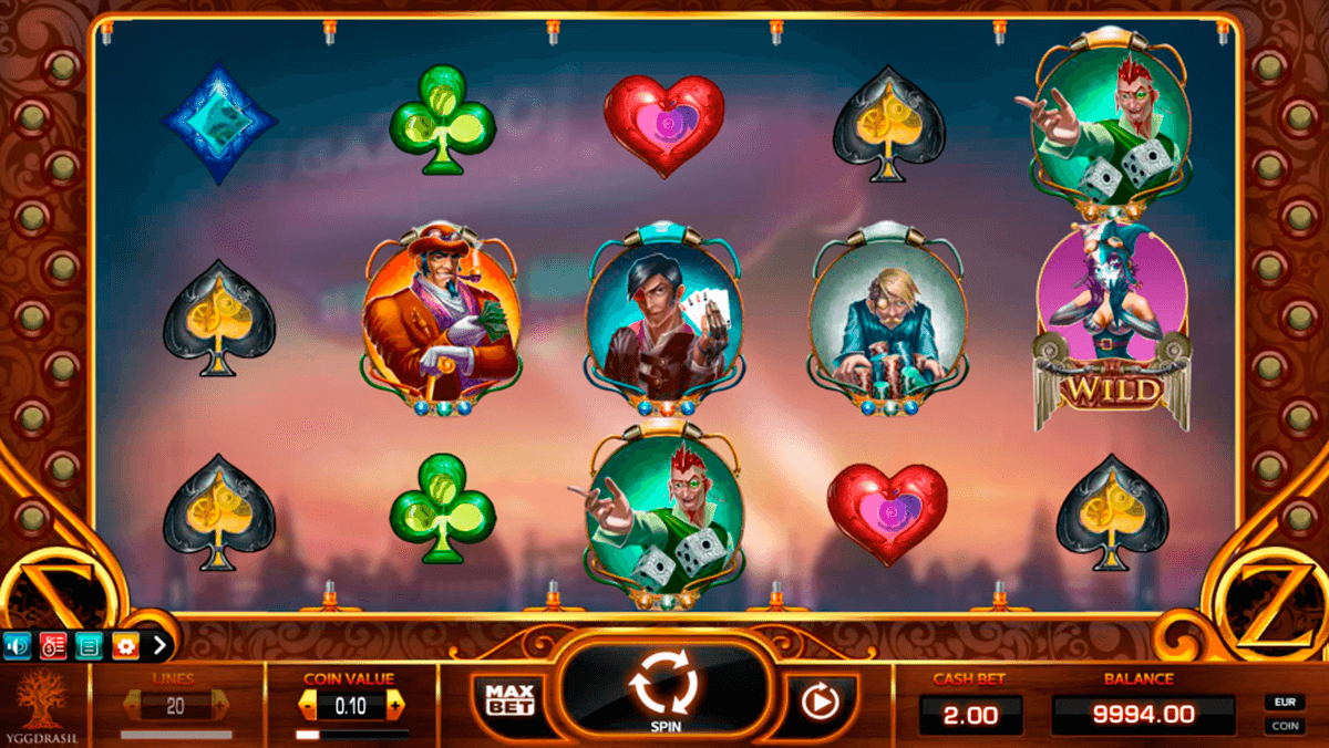 cazino zeppelin yggdrasil slot machine