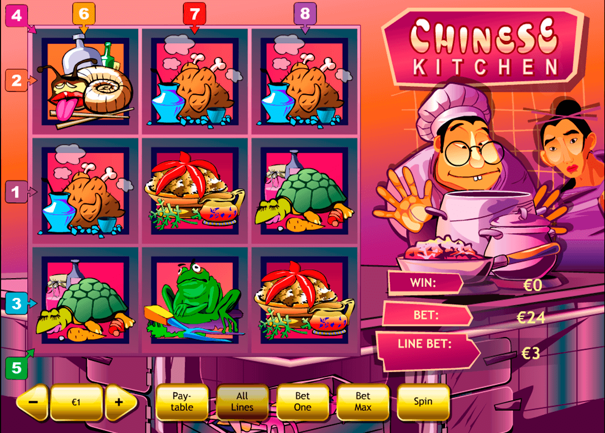 chinese kitchen playtech slot machine