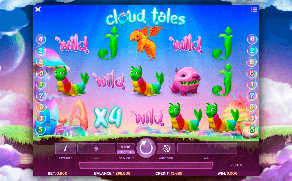cloud tales isoftbet slot machine