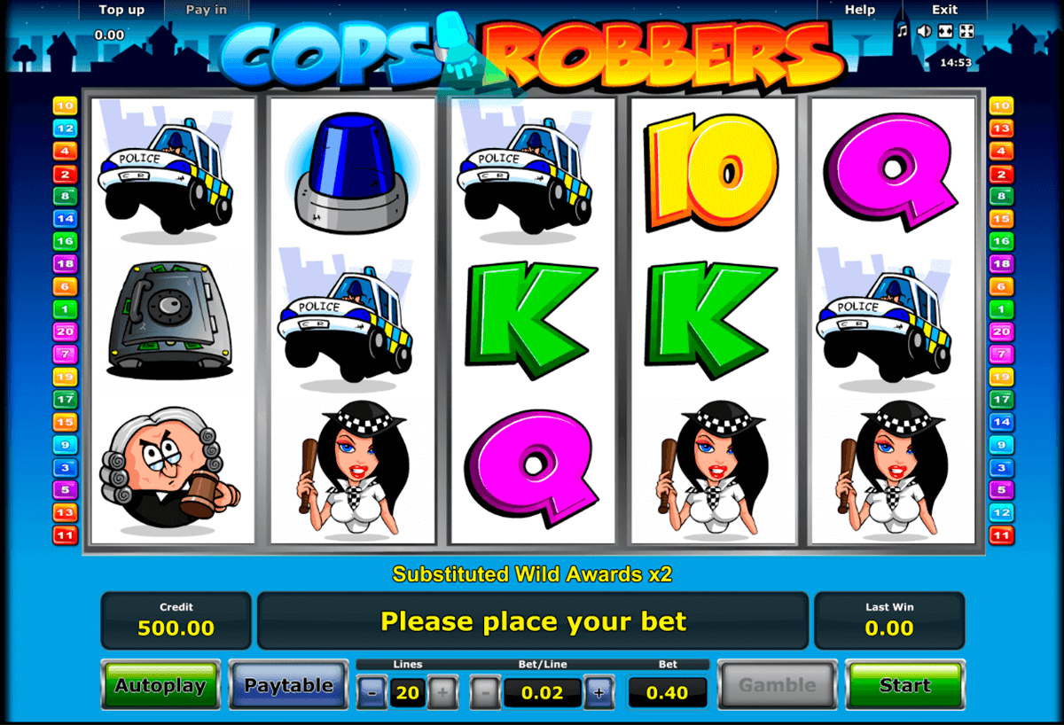 cops n robbers novomatic slot machine