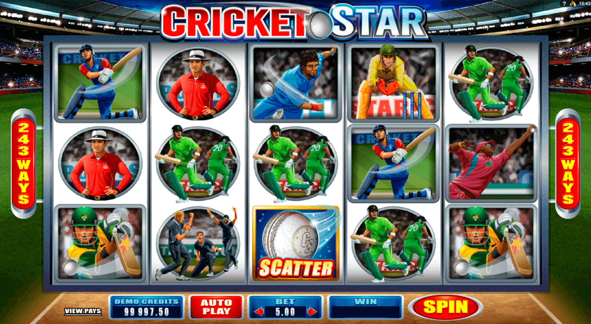 cricket star microgaming slot machine