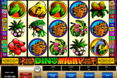 dino might microgaming slot machine