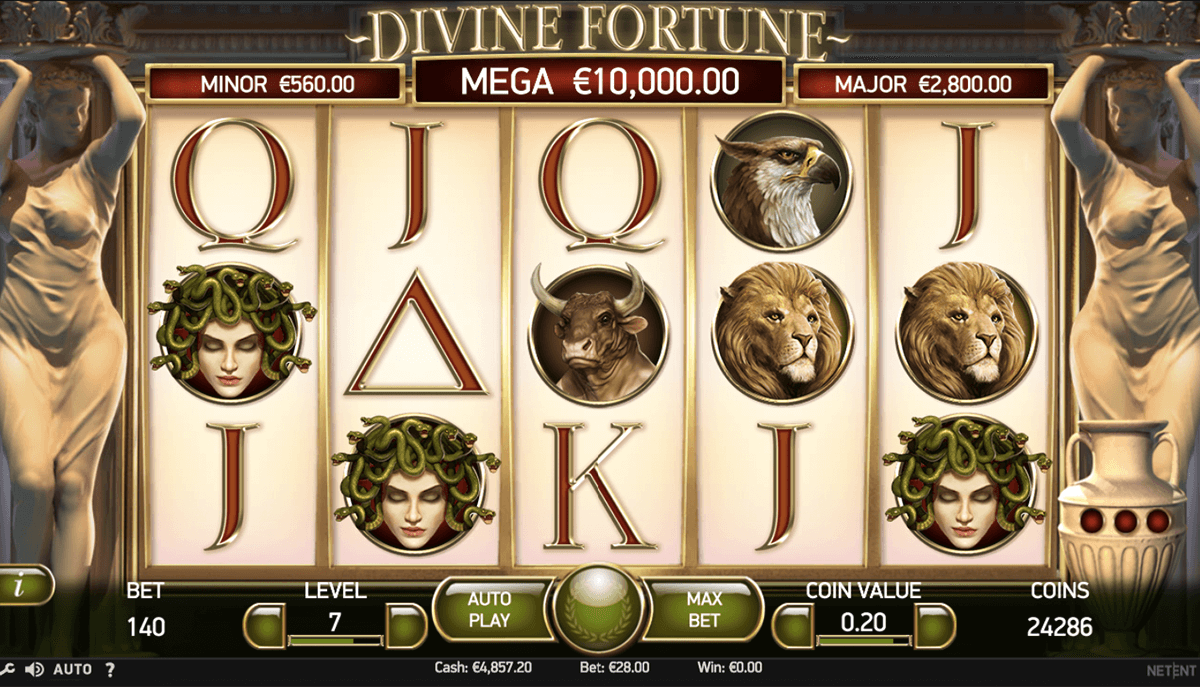 divine fortune netent slot machine