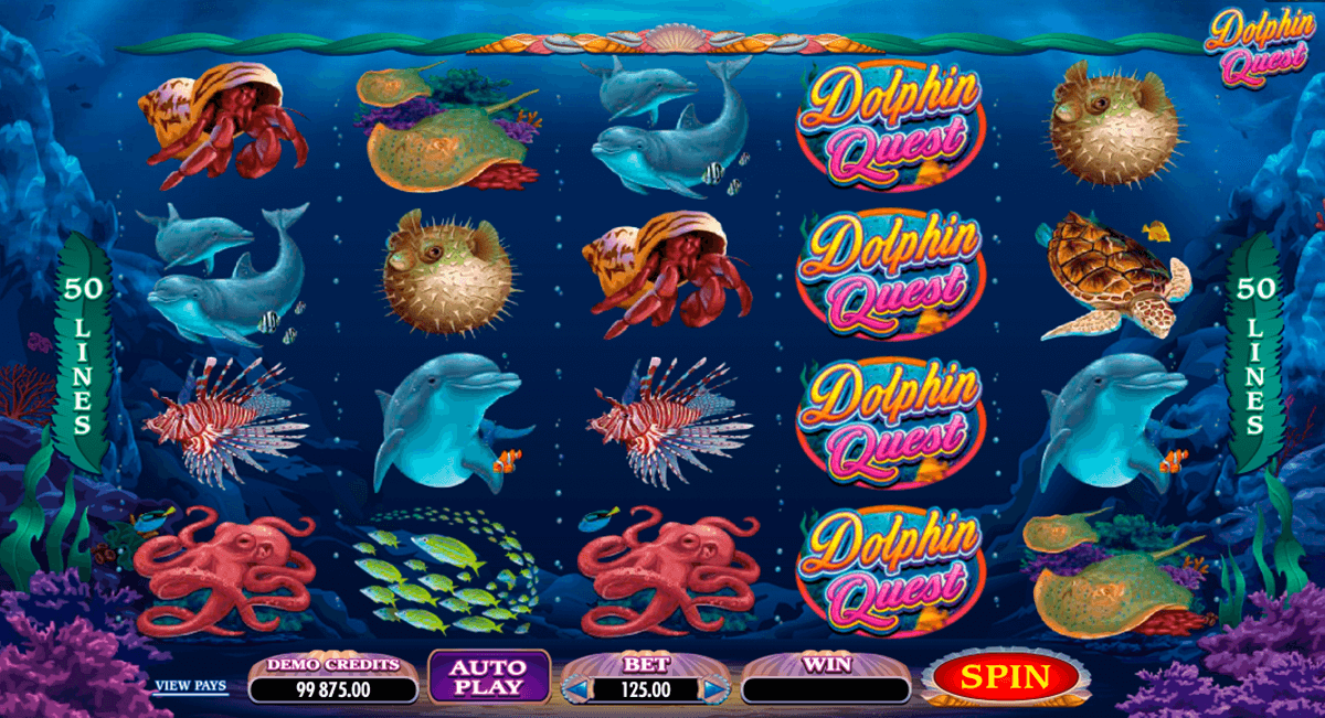 dolphin quest microgaming slot machine