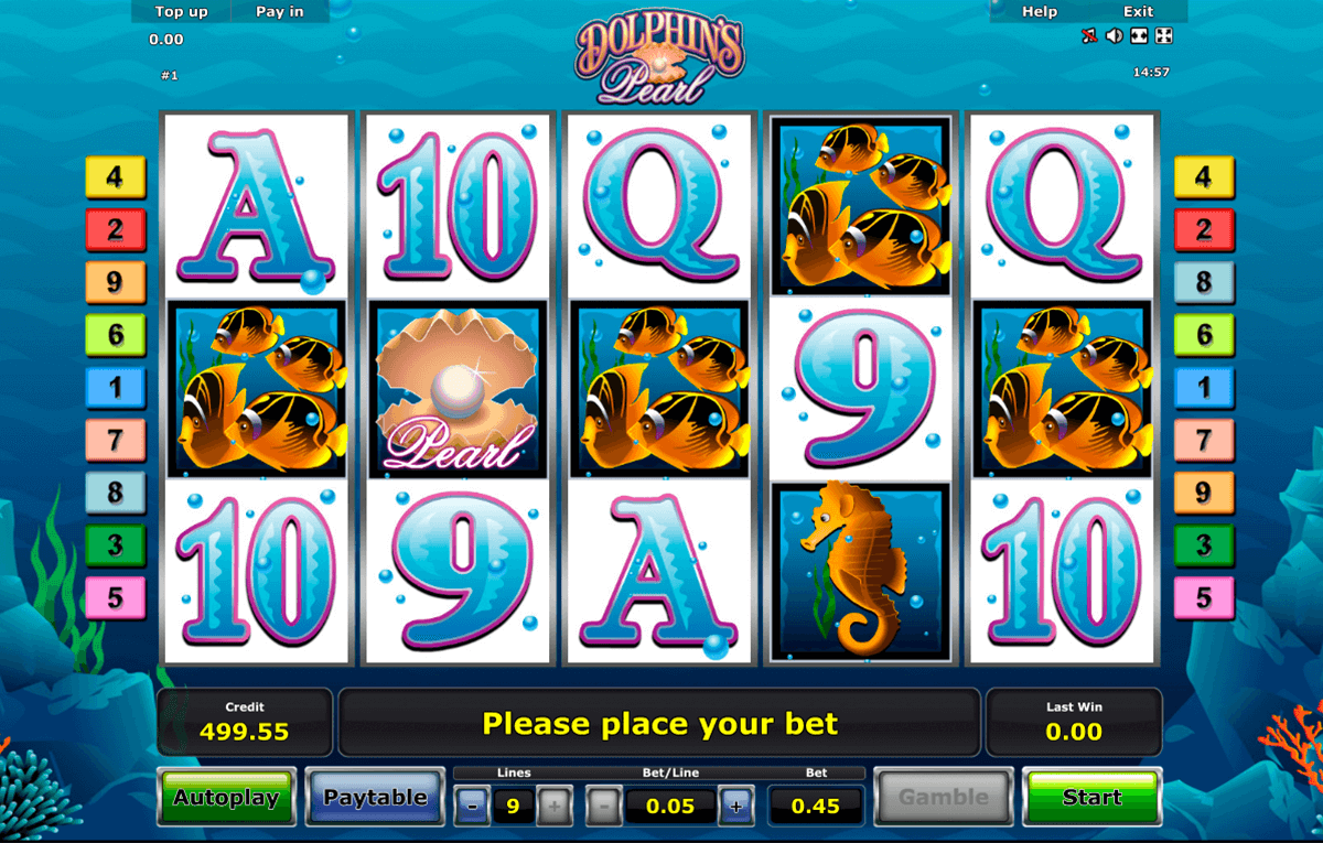 dolphins pearl novomatic slot machine