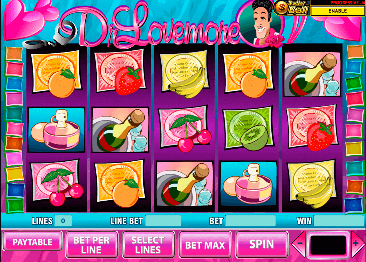 dr lovemore playtech slot machine