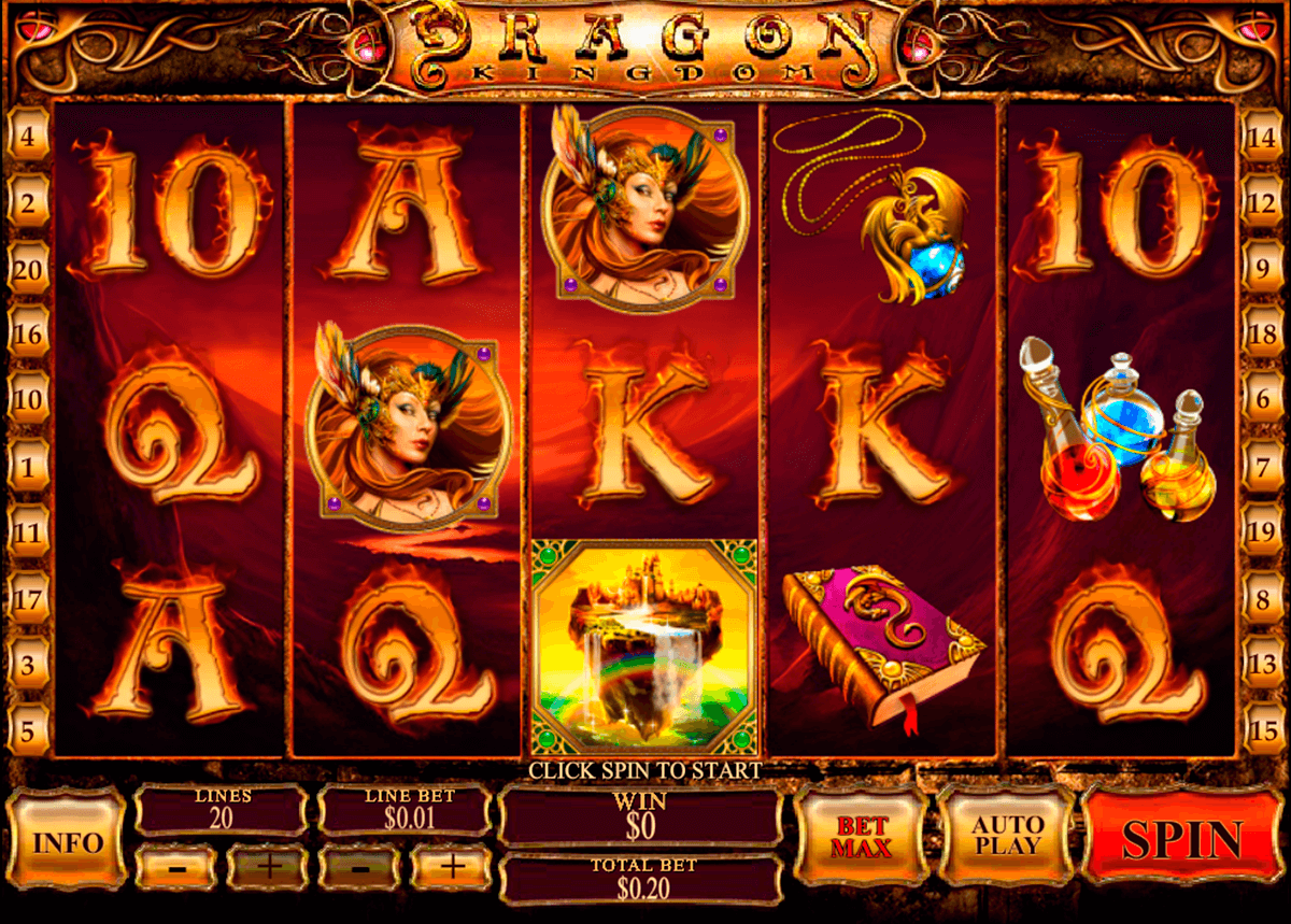 dragon kingdom playtech slot machine