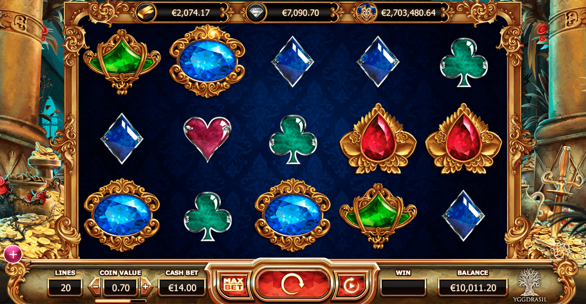 empire fortune yggdrasil slot machine