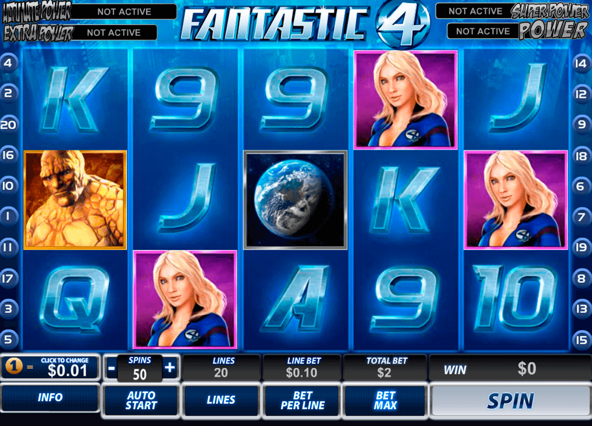 fantastic four playtech slot machine