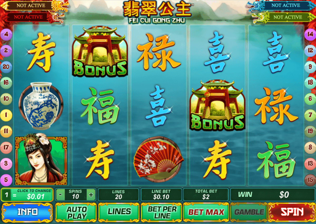 fei cui gong zhu playtech slot machine