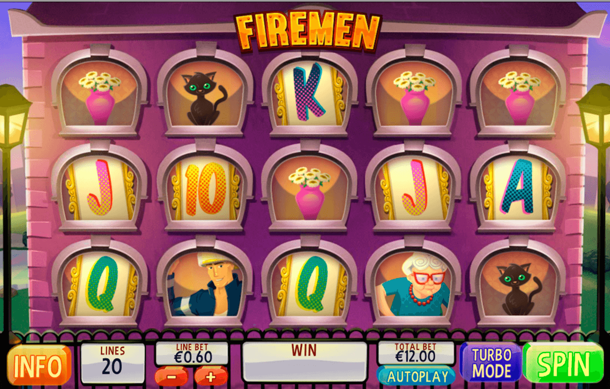 firemen playtech slot machine