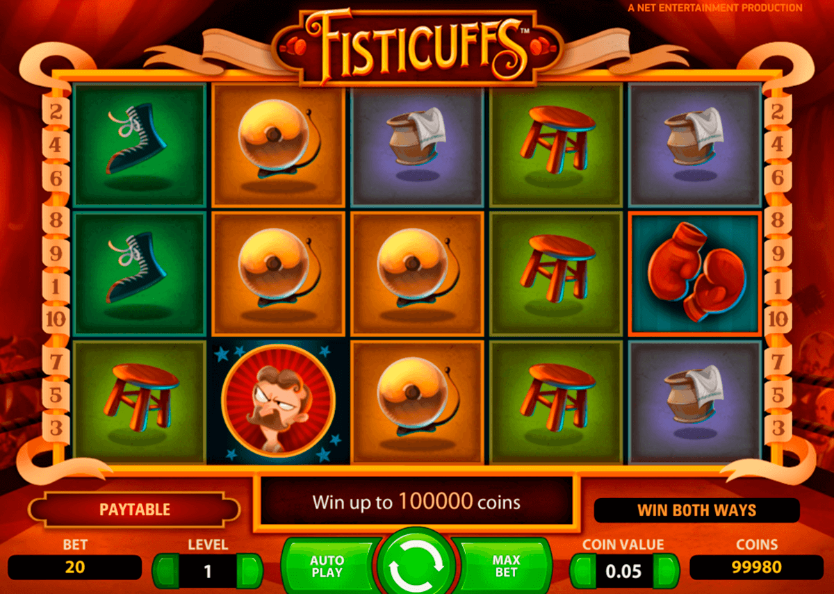 fisticuffs netent slot machine