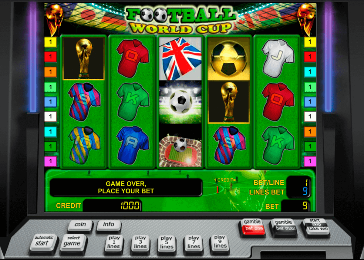 football world cup novomatic slot machine