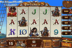 fortunate five playtech slot machine