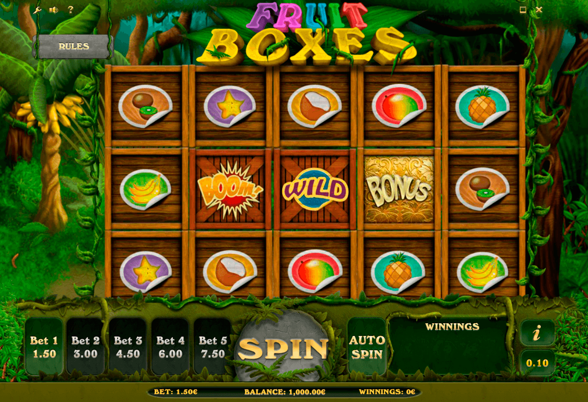 fruit boxes isoftbet slot machine