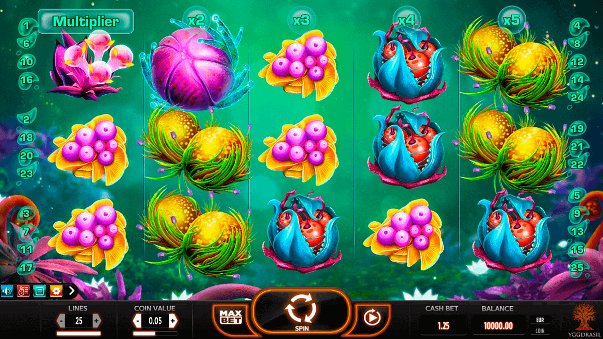 fruitoids yggdrasil slot machine
