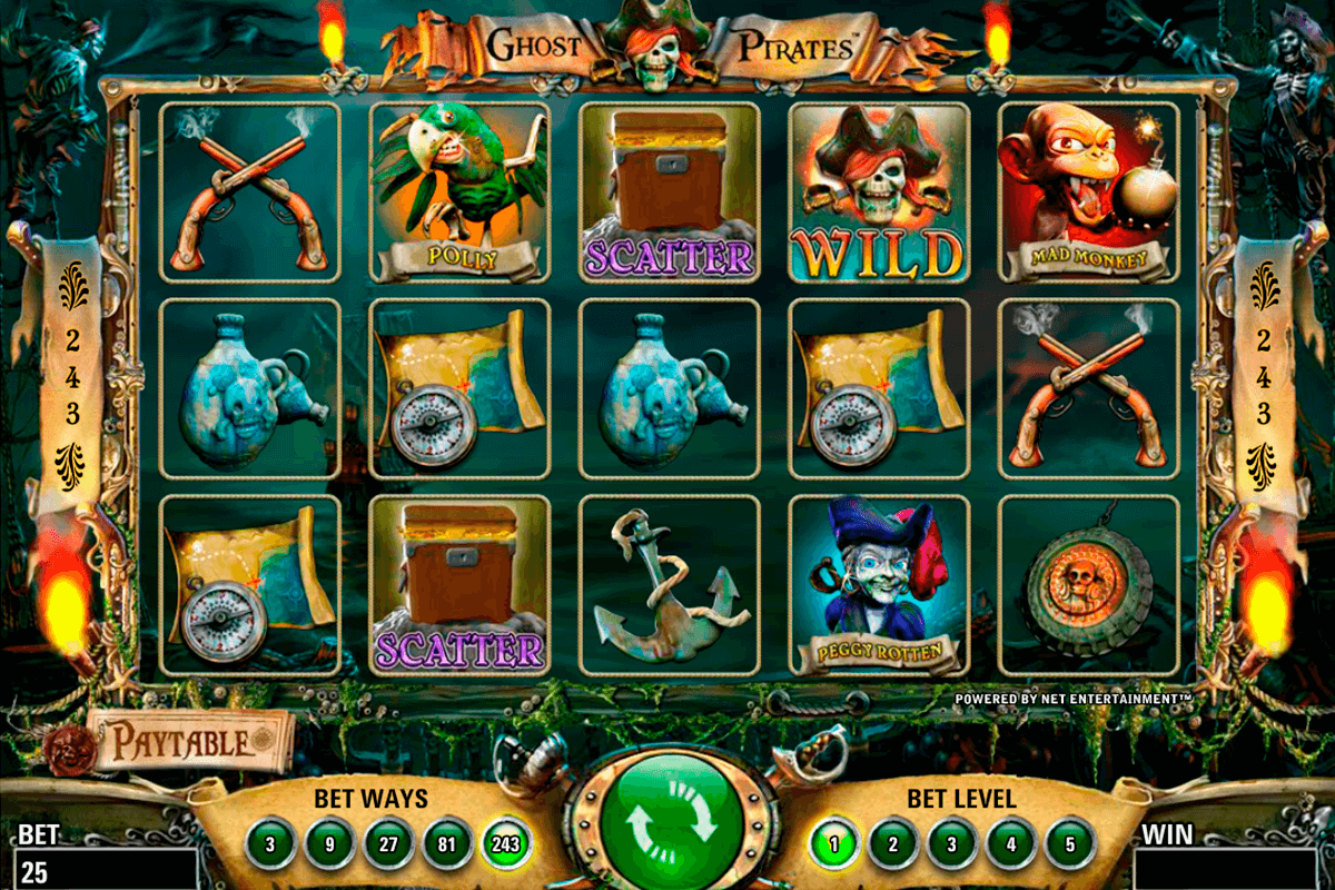 ghost pirates netent slot machine