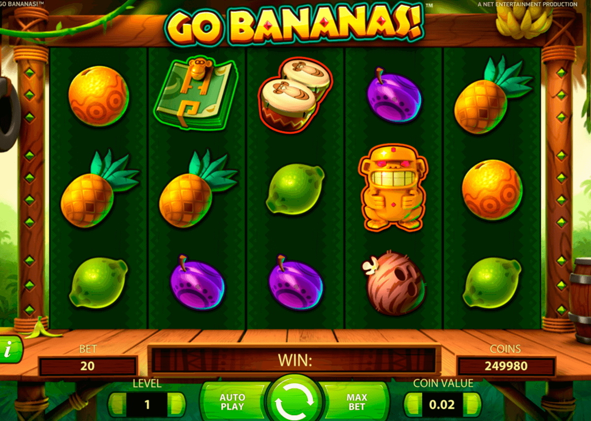 go bananas netent slot machine