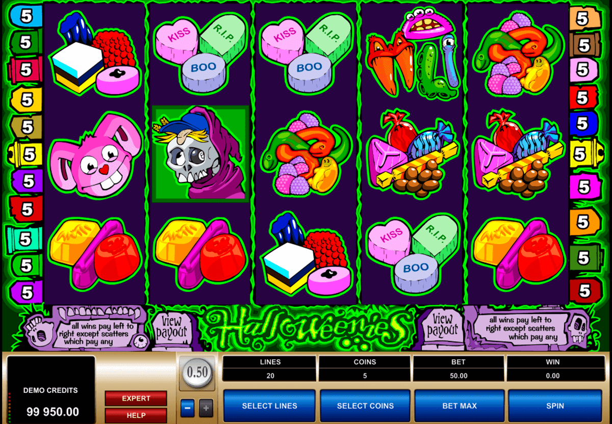 halloweenies microgaming slot machine