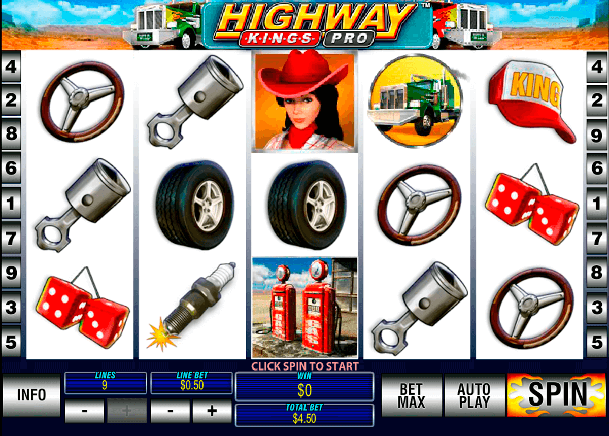highway kings pro playtech slot machine