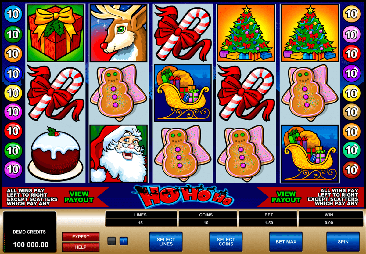 ho ho ho microgaming slot machine