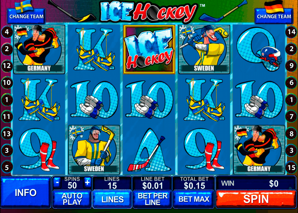 ice hockey playtech slot machine