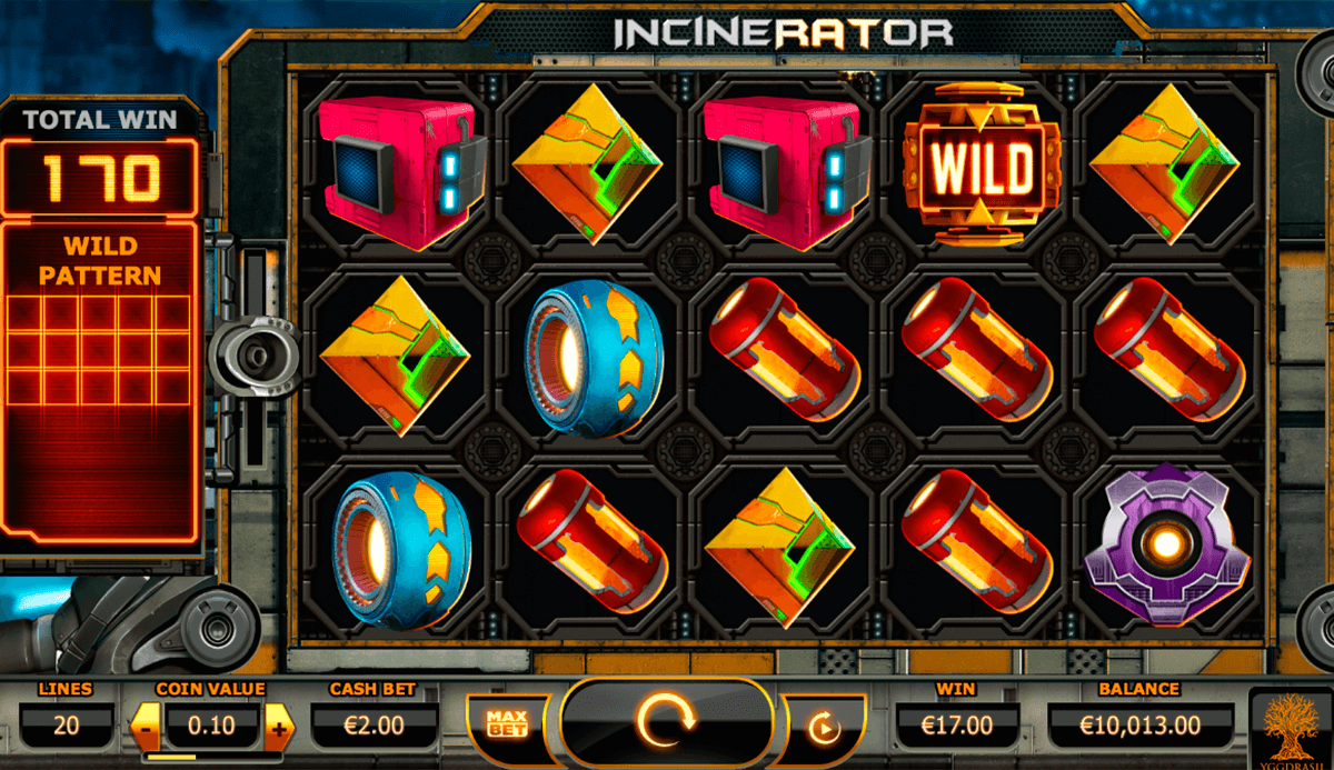 incinerator yggdrasil slot machine