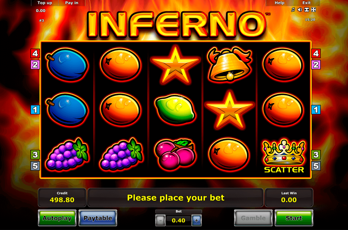 inferno novomatic slot machine